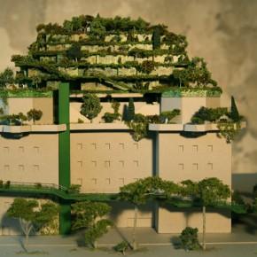 Vision vom grünen Bunkerdach